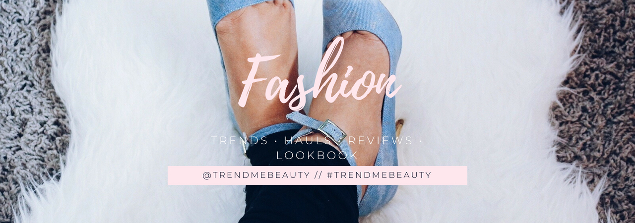 fashion blogger wearing denim high heel shoes